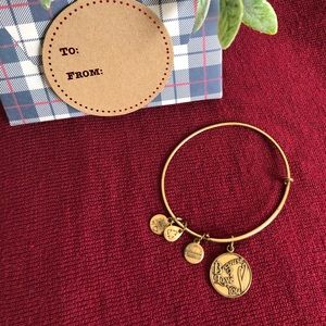 """♦️ALEX AND ANI """"Because I Love You"""" Gold Bracelet"""
